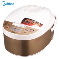 美的(Midea)智能预约家用保温 黄晶内胆电饭煲 4L FD4019A