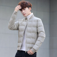 冬季新款棉衣男韩版修身帅气短款青年上衣冬装休闲潮流外套男