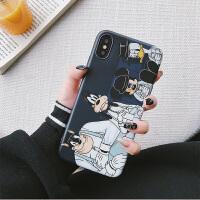 网红款可爱卡通童年动漫iPhone7plus手机壳新款苹果6s/8plus全包防摔硅胶软壳6sp男女