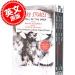 现货 在黑暗中讲述的恐怖故事 三本套装合集 英文原版 平装 Scary Stories Paperback Box S