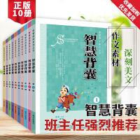 【共十本】智慧��x系列��� 智慧背囊 全套10��1-10�2011版�典版中小�W�n外��x作文��素材通用�x物345678