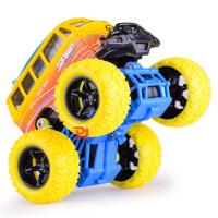 铭源 仿真四驱惯性越野大轮合金大众巴士 儿童涂鸦玩具车