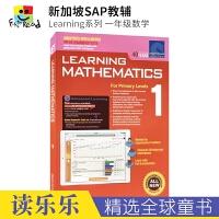 【首页抢券300-100】SAP Learning Mathematics 1 新加坡数学教辅 小学一年级数学练习册 新