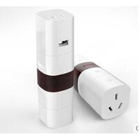 转换器 包邮 公牛转换器GN-L07U多国旅行转换插头转换插座带USB