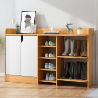 【限时直降3折】家用门口鞋柜简约现代收纳储物柜经济型进门玄关柜省空间简易鞋架