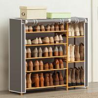 淘之良品多层简易鞋柜鞋架子门口家用经济型收纳置物架实木宿舍防尘