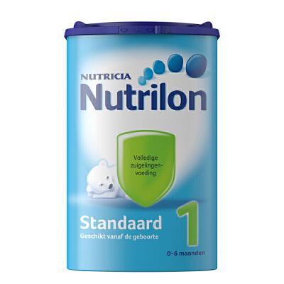 保税区直发  荷兰Nutrilon牛栏奶粉1段(0-6个月宝宝 850g) 【1罐装】保质期为18年11月-19年03月左右