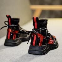 儿童运动鞋男童休闲鞋百搭棉鞋