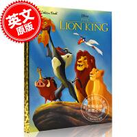 现货 迪士尼狮子王儿童绘本故事书 英文原版 The Lion King Disney The Lion King Bi