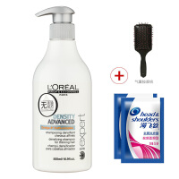 L'OREAL欧莱雅 强韧焕发洗发水500ml进口专业洗护发  强健滋养固发 控油去屑止痒
