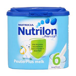保税区直发 荷兰Nutrilon牛栏奶粉6段(3周岁以上宝宝 400g) 日期新鲜