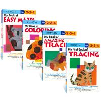 【首页抢券300-100】Kumon Basic Skills Workbooks Ages 2-4岁 公文式教育 英语