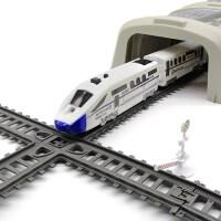 益智电动高铁小火车轨道仿真和谐号动车模型儿童男孩玩具