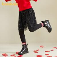 【3件5折价:119.5】巴拉巴拉女童打底裤春装儿童裤子中大童裙裤
