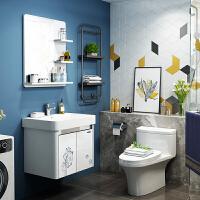 【限时直降】九牧(JOMOO)浴室柜洗脸盆柜洗手盆欧式卫浴柜组合套装 台盆面盆柜洗手台悬挂式A2119