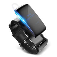 DFyou 智能手环通话蓝牙耳机运动计步器跑步防水拍照睡眠安卓腕带