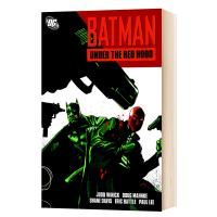预售 英文原版 蝙蝠侠:红影迷踪 DC漫画 决战红帽火魔 Batman: Under the Red Hood