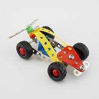 3D立体金属拼装积木中F1赛车合金拼装玩具diy模型益智积木