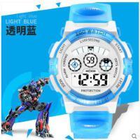 柔软舒适表带休闲表小学生男女童运动数字式智能防水青少年手表儿童电子手表