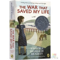 The War That Saved My Life 拯救我生命的战争 儿童英语章节桥梁书 纽伯瑞奖银奖作品 青少年课外