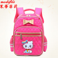 茉蒂菲莉 双肩包 儿童礼物新款韩版小学生书包卡通动漫甜美猫咪低年级女童可爱背包