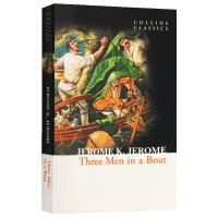 三怪客泛舟记 英文原版小说 Three Men in a Boat 三人同舟 柯林斯经典文学 杰罗姆 Jerome K