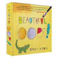 【首页抢券300-100】Beautiful Oops 美丽的意外 幼儿思维艺术启蒙翻翻书 美国教育出版奖 精装玩具书