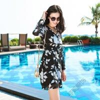夏季连衣裙欧洲站女装九分袖雪纺连衣裙时尚打底裙欧美短裙子 黑色