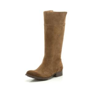 Clarks/其乐女鞋2017秋冬新款英伦时尚休闲长靴Mimic Diva专柜正品直邮