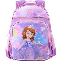 Disney迪士尼 BP6346B小公主苏菲亚儿童书包女孩学生背包1-2-3-4年级女童双肩包 紫色当当自营
