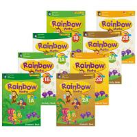 【首页抢券300-100】SAP Rainbow Maths K1K2 彩虹幼儿园系列教辅8册套装 新加坡数学教辅新亚出