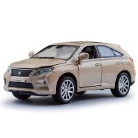嘉业 仿真雷克萨斯RX450H合金汽车模型 儿童独立装声光玩具车