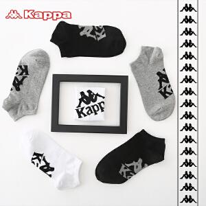 Kappa/卡帕(3双盒装)学生棉质低帮潮短袜青少年袜子KP8W10
