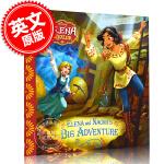 现货 阿瓦勒公主埃琳娜和娜奥米的大冒险 迪斯尼 儿童绘本故事 英文原版 Elena of Avalor: Elena