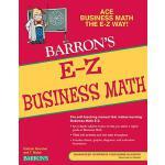 【预订】E-Z Business Math