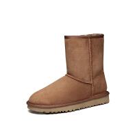 【现货】香港直邮UGG 女士雪地靴经典系列中筒靴专柜正品1016223
