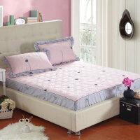 纯全棉加厚夹棉床笠单件1.8席梦思床垫保护套床罩床垫套