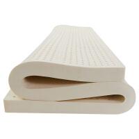 20191109020355228天然乳胶床垫1.5米1.8床橡胶垫厚床垫 厚度2.5cm 泰国原装进口 送乳胶枕*1