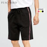 太平鸟男装 男士运动短裤潮流运动裤五分裤多色夏季宽松裤子潮牌