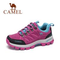 Camel/骆驼户外徒步鞋 春季新款女款低帮防滑减震登山徒步鞋