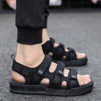 2019新款凉鞋夏季男士沙滩鞋韩版潮流厚底增高学生两用凉拖鞋