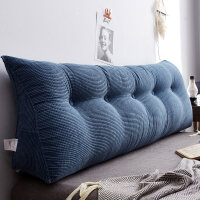 【新品】三角床头靠垫 可拆洗床头靠垫大靠背榻榻米沙发靠枕护腰枕飘窗抱枕软包