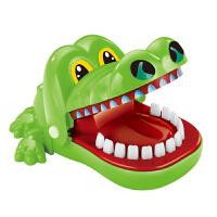 咬手指鲨鱼咬人鳄鱼狗牙齿恶搞整蛊创意玩具