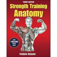【现货】英文原版 力量训练解剖 第三版 Strength Training Anatomy 600+肌群图解及常见力量训