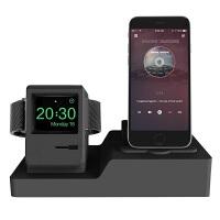 苹果手机手表支架Applewatch支架硅胶创意AirPods充电底座个性潮