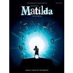 英文原版 玛蒂尔达 音乐剧选集 钢琴/声乐 乐谱 Matilda - The Musical