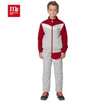 季季乐2016春季新款男童针织套装中大童纯棉运动休闲学生针织套装BCZ61047