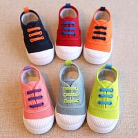 春秋儿童鞋宝宝帆布鞋男童女童鞋板鞋小童单鞋休闲鞋子