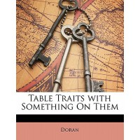 【预订】Table Traits with Something on Them