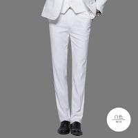男式韩版西修身免烫商务休闲时尚工装加大加长职业收腰结婚西裤NS01